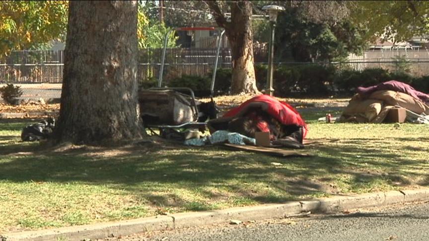 Homeless Encampment (File)