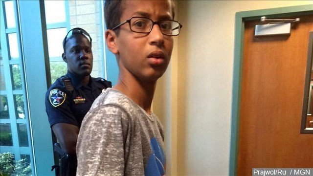 Attorneys for the 14-year-old Muslim boy arrested after taking a homemade clock to his Dallas-area school say he was publicly mistreated and deserves $15 million.