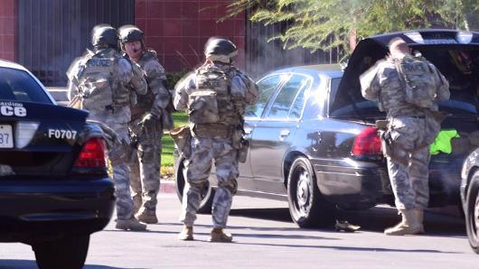 Shooting at a social services facility in San Bernardino, California