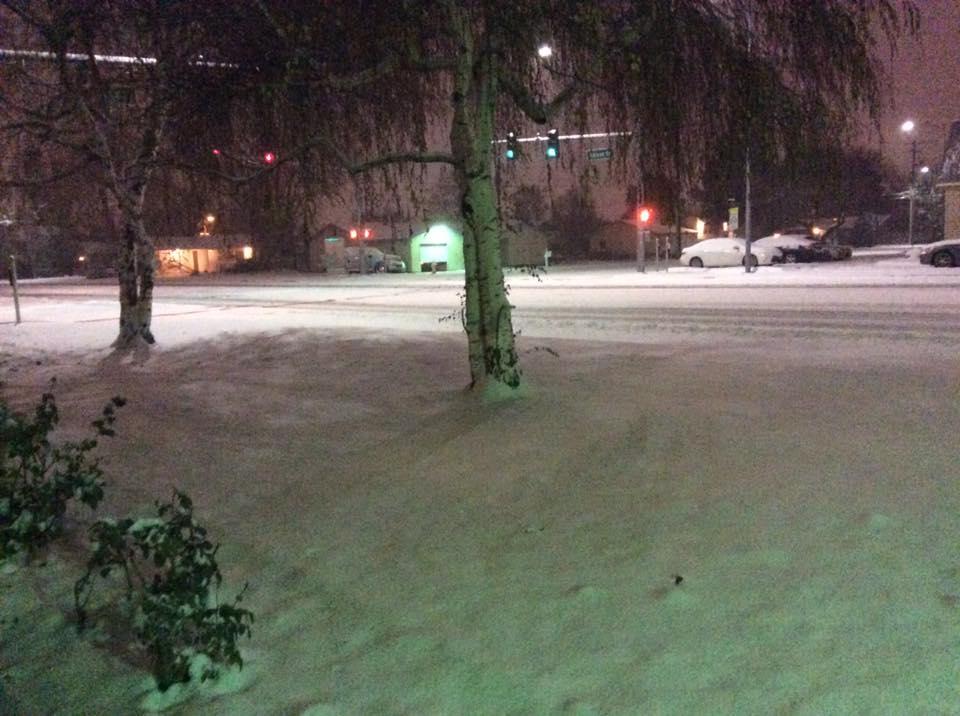 Snowpack below average in northeastern Oregon after snowfall.