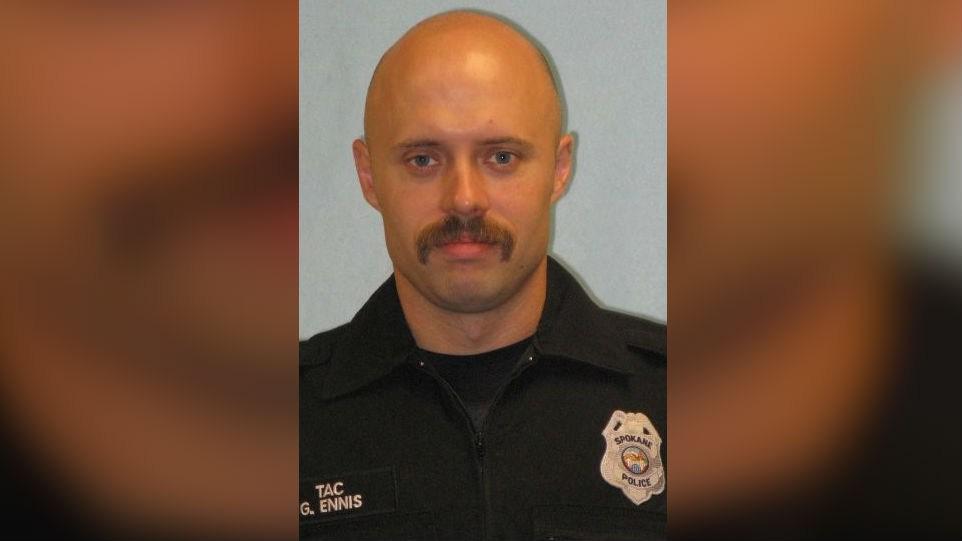 Officer Gordon Ennis was arrested for 2nd degree rape