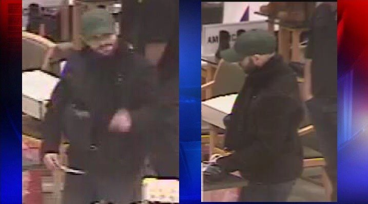 Kennewick Police need help identifying a man who allegedly attempted to pass a counterfeit $100 bill at the Columbia Center Mall