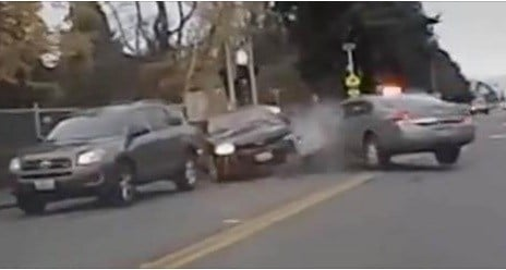 Seattle police release video of car chase, deadly shootout