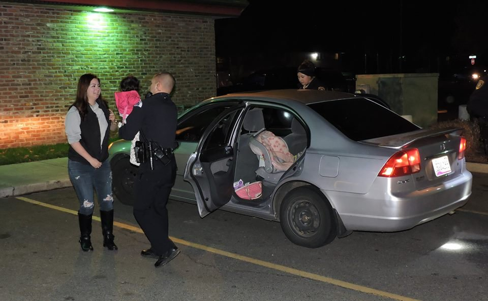 The two girls were found safe and unharmed.