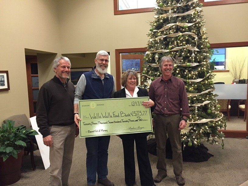 Walla Walla Valley Wineries, Businesses raise a record-breaking amount for local Food Bank