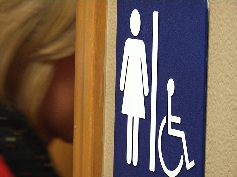 state gender identity law causes controversy over bathroom lock
