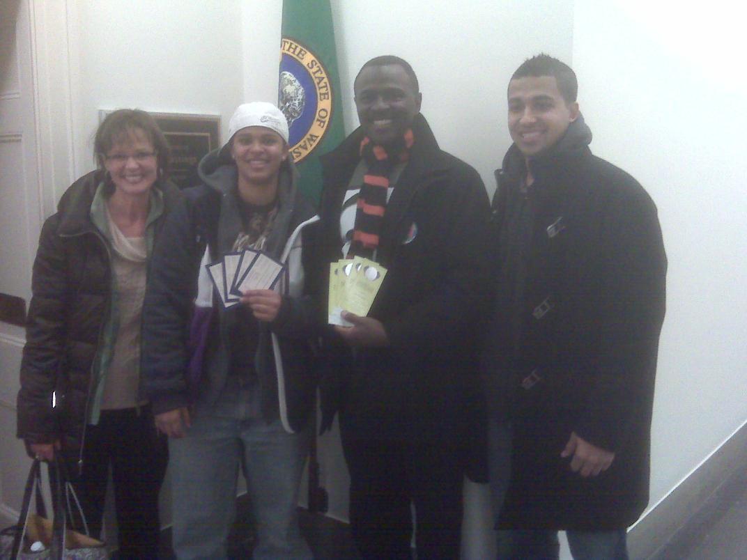 Wayne Martin and family finally got tickets to inauguration and the inaugural ball