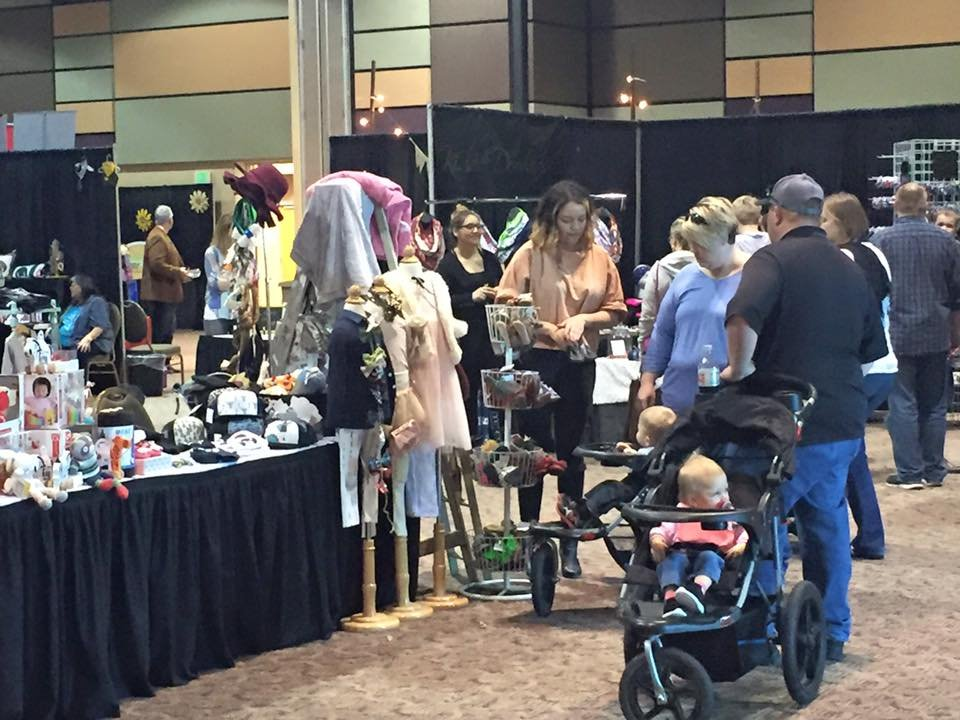 Vendors offered everything from clothes to healthy food ideas.