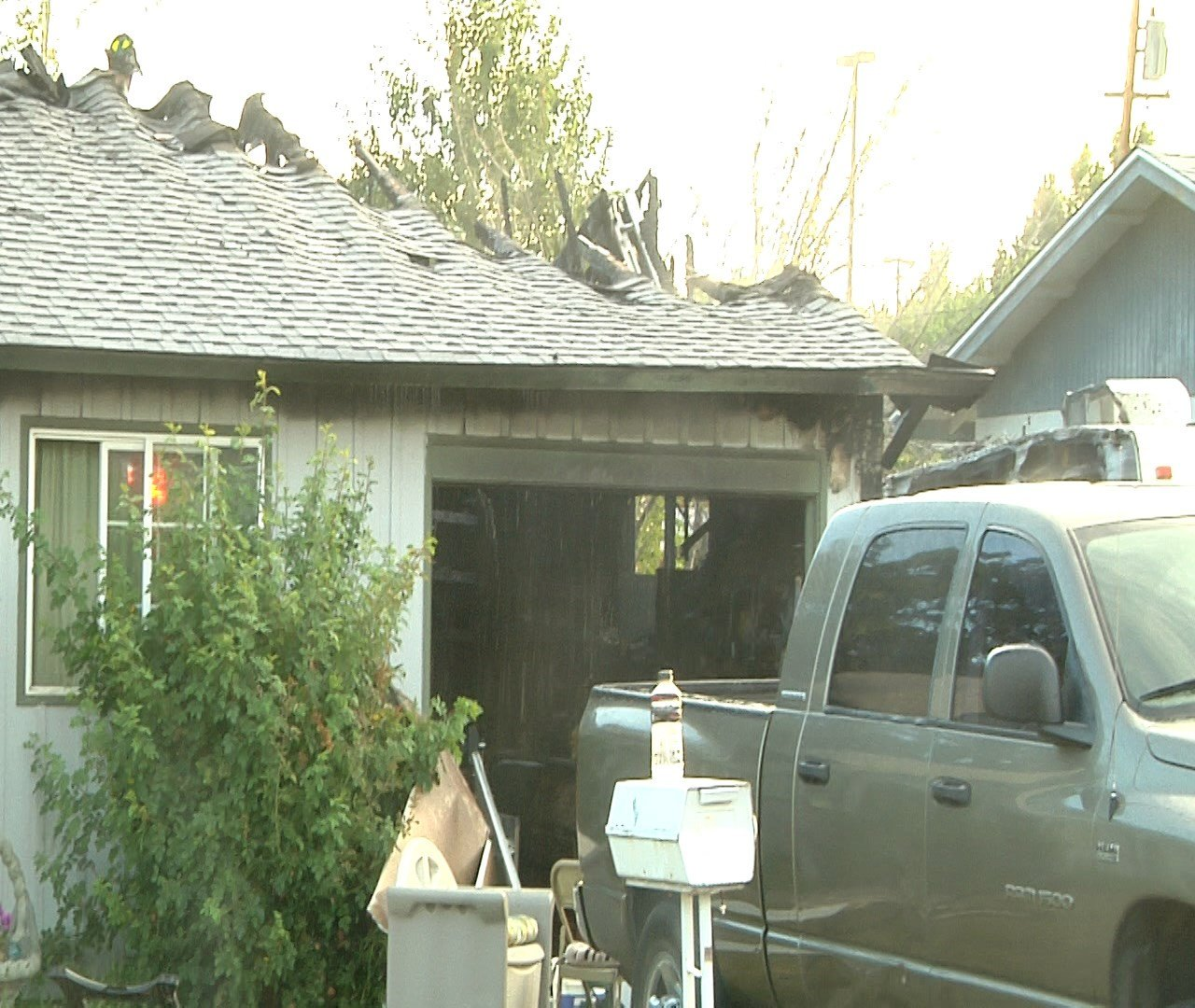 Home damaged by fire 7/19/16