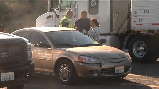 Pasco Police investigating the accident scene