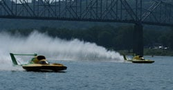 U-10 jumps the gun in Heat 1B - Photo: Jim Simpson
